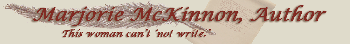 Marjorie Writes