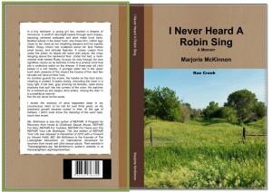 I Never Heard A Robin Sing final Book cover
